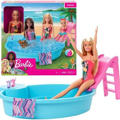 Barbie Doll & Pool Playset