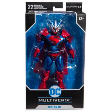 DC Comics 7 Inch Multiverse Superman Armored