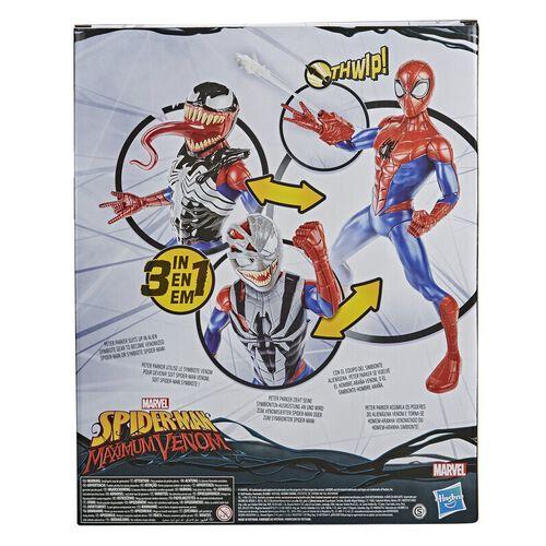 Marvel Spider-Man Maximum Venom Spider-Man Venom Gear