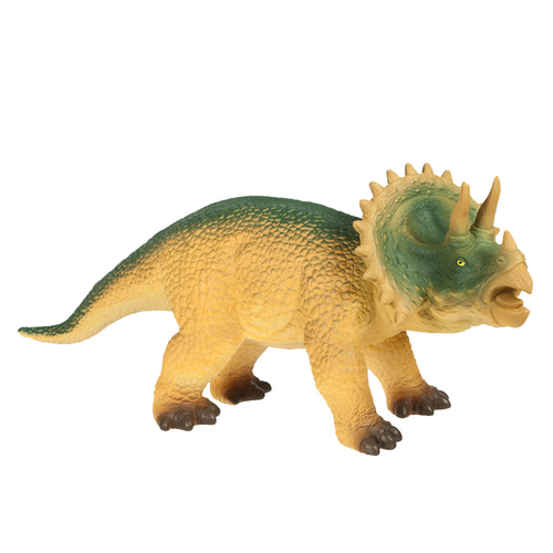 World Animal Collection Large Soft Triceratops