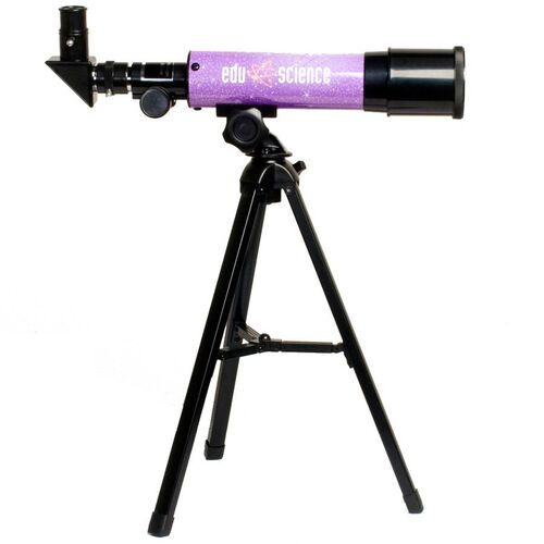 Edu Science Lavender Telescope Refractor