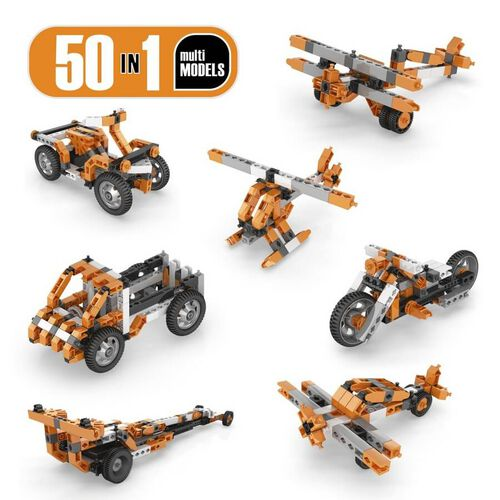 Engino Inventor Series 50 Models Motorized