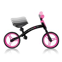 Globber Go Bike Black Neon Pink Toddler Balance Bike