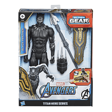 Marvel Avengers Titan Hero Series Blast Gear Deluxe Black Panther