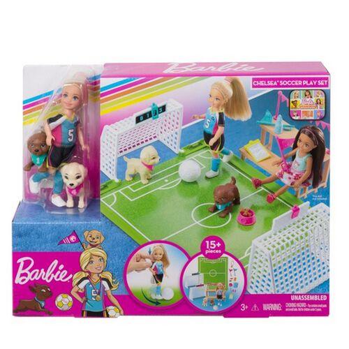Barbie Dreamhouse Adventures Sports Chelsea Soccer Playset