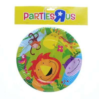 "Parties""R""Us Jungle Party Paper Plates"