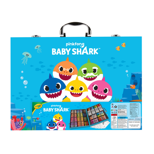 Crayola Baby Shark Inspiration Art Case