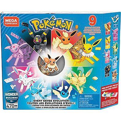 Mega Construx Pokemon Every Eevee Evolution!