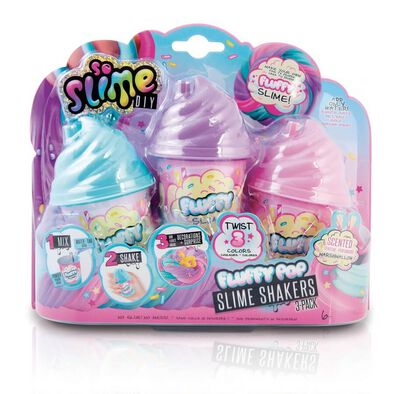 So Slime Fluffy Pop Slime Shaker 3 Pack