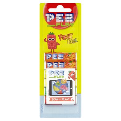 Pez Candy 6 Pack Refill Fruit Play