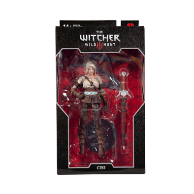 DC The Witcher Gaming 7 Inch Figure Ciri