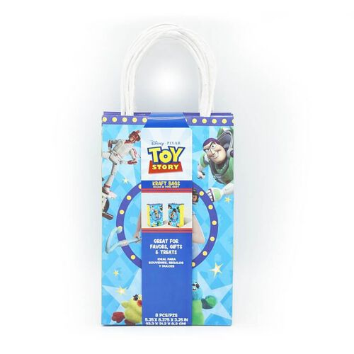 Toy Story Kraft Bag 8 Pack
