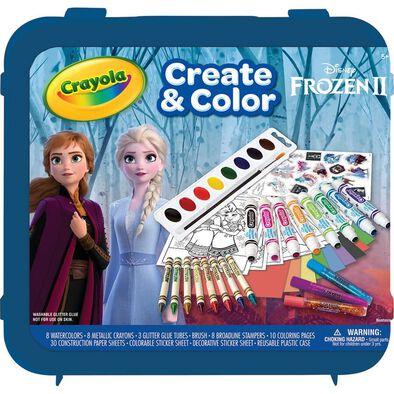 Crayola Disney Frozen 2 All That Glitters Case