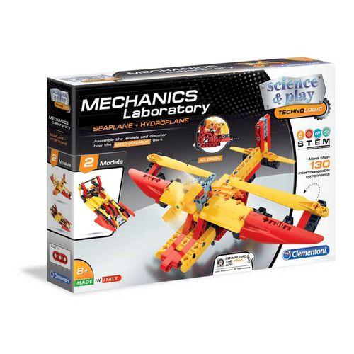 Clementoni Mech Lab Sea & Hydroplane