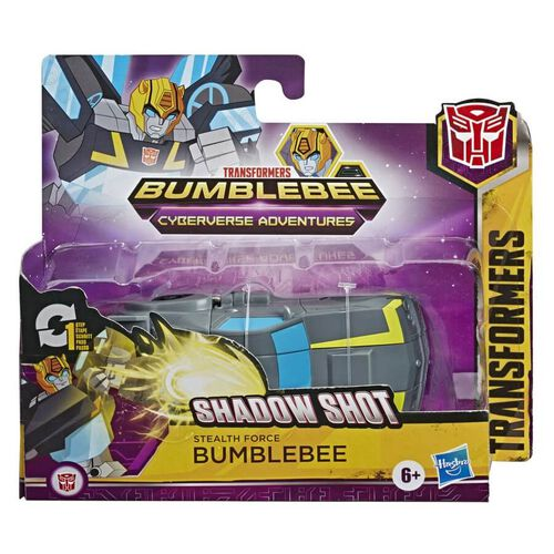 Transformers Cyberverse 1 Step Stealth Force Bumblebee