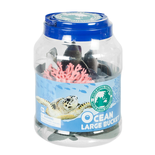 World Animal Collection Ocean Large Bucket