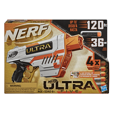 NERF Ultra Five Blaster