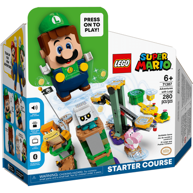 LEGO Super Mario Adventures With Luigi Starter Course 71387