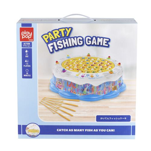 Play Pop Party Fishing Game Action Game