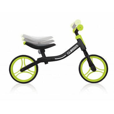 Globber Go Bike Black/Lime Green Balance Bike
