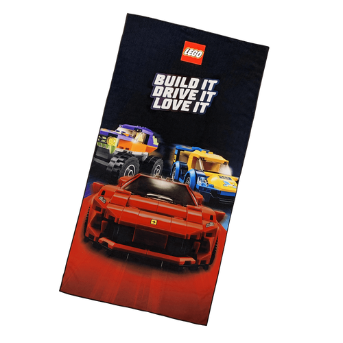 Gift With Purchase - LEGO Cars Microfibre Towel - NOT FOR SALE