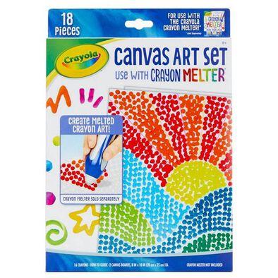 Crayola Pixel Canvas Art