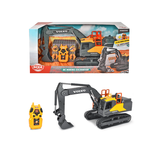 Dickie Toys R/C Volvo Mining Excavator