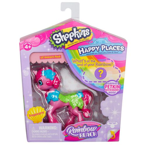 Shopkins Happy Places Lil' Unicorn Pack Tropicorn