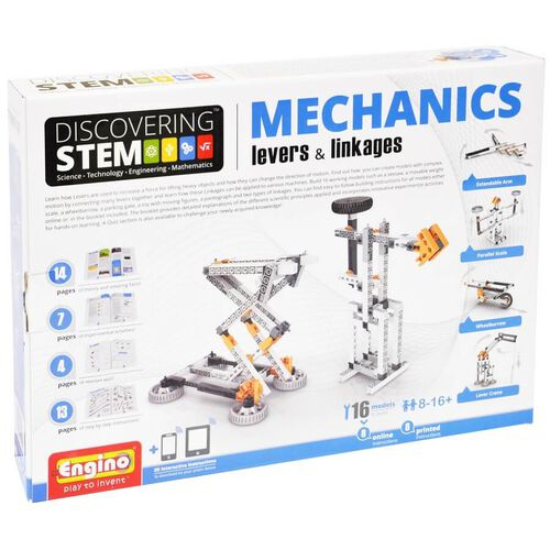 Engino S.T.E.M. Series Mechanics Levers & Linkages