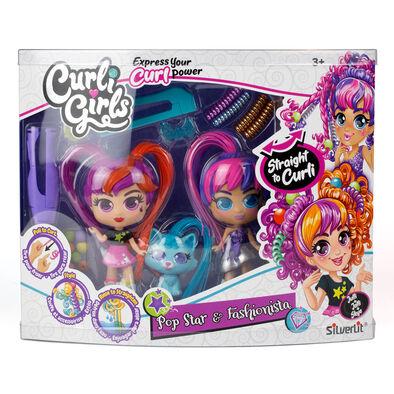 Silverlit Curligirls Doll & Pets Twin Set