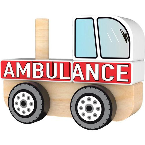 J'adore Ambulance Stacking Sorter Truck