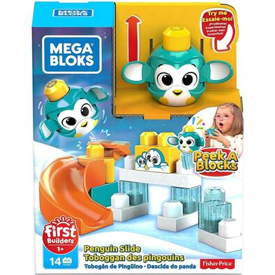 Mega Bloks First Builders Peek A Blocks Penguin Slide