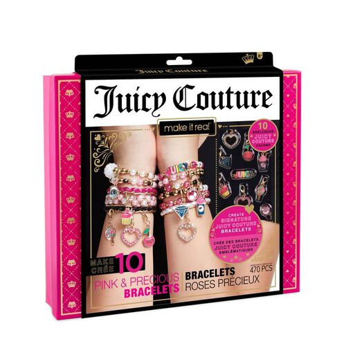 Make It Real Juicy Couture Pink And Precious Bracelets