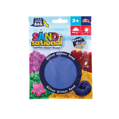 Sandsational Glitzy Glitter Sand - Assorted