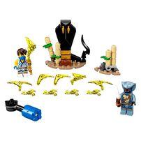Lego Ninjago Epic Battle Set Jay vs. Serpentine 71732