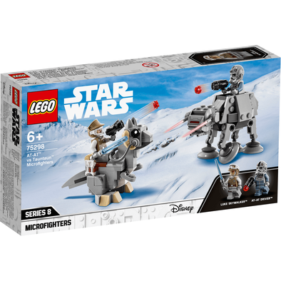LEGO Star Wars TM At-At Vs. Tauntaun Microfighters 75298