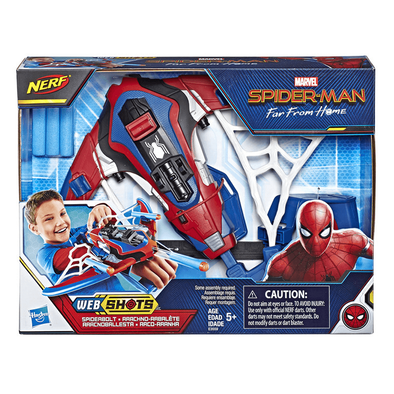 Marvel Spider-Man Far From Home Web Shots Spiderbolt NERF Powered Blaster