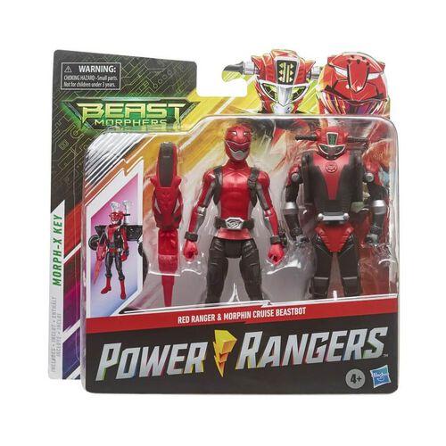Power Ranger Beast Morphers 6 Inch Beastbot Figure Packs - Assorted