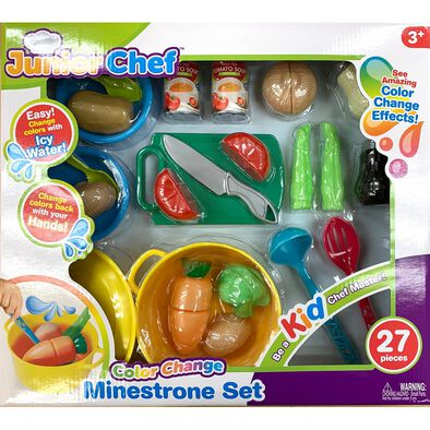 Junior Chef 27 Pieces Minestrone Set