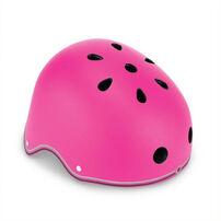 Globber Helmet Primo Lights Neon Pink