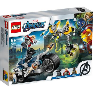 LEGO Marvel Avengers Movie 4 Avengers Speeder Bike Attack 76142