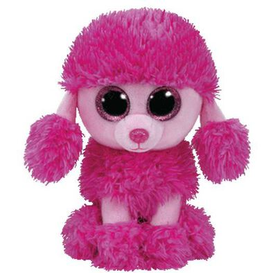 Ty Beanie Boo 6 Inch Patsy The Pink Poodle