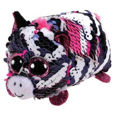 Ty Teeny Tys Zoey Sequin Pink Zebra