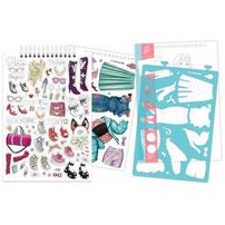 Make It Real Fashion Design Sketchbook: City Style