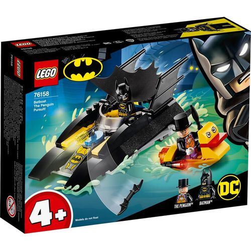 LEGO DC Comics Super Heroes Batboat The Penguin Pursuit 76158