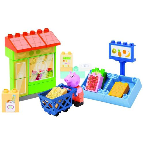 Peppa Pig Playbig Bloxx Peppa Shop - Assorted
