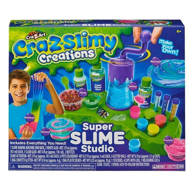 Cra-Z-Art Cra-Z-Slimy Creations Super Slime Studio