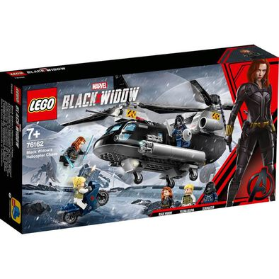 LEGO Marvel Black Widow's Helicopter Chase 76162