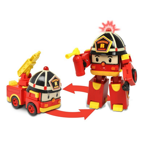 Robocar Poli 5 Inch Transforming Roy With Light