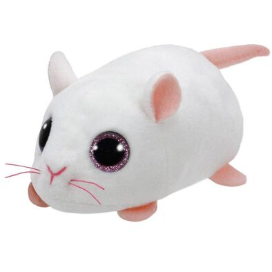 Ty Teeny 4 Inch Anna The White Mouse